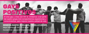 TALLERES PARA HOMBRES GAY VIH+